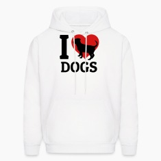 I love dogs Hoodies