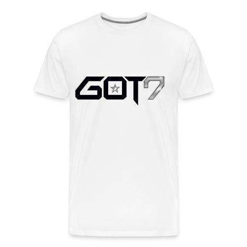 GOT7 White Tee - Men's Premium T-Shirt