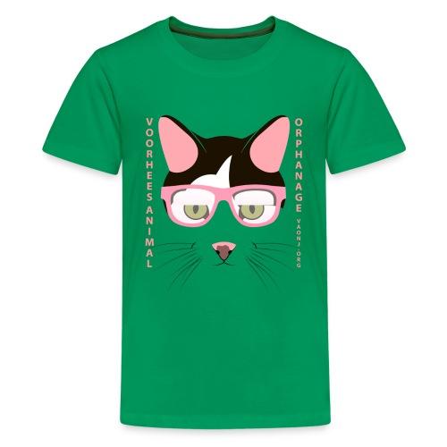Cat Glasses Tee - Kids' Premium T-Shirt