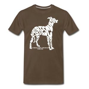 Word Dog Tee - Men's Premium T-Shirt