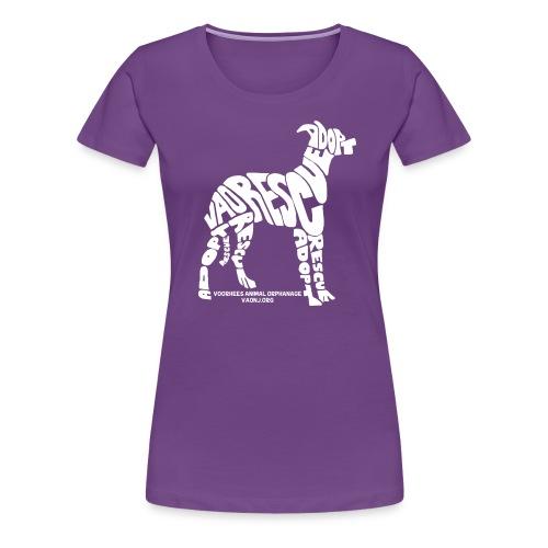 Word Dog Tee - Women's Premium T-Shirt