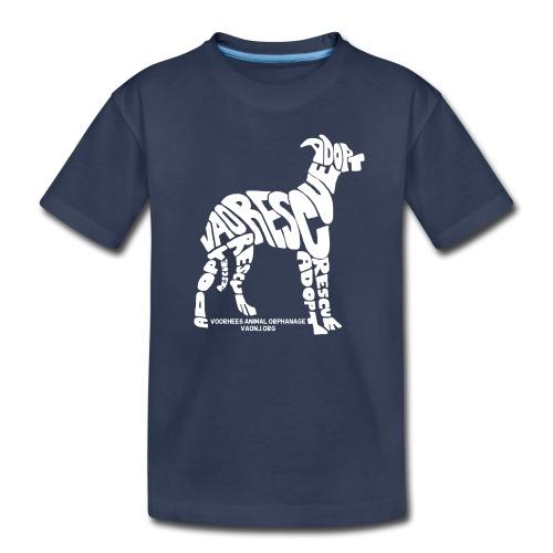 Word Dog Tee - Kids' Premium T-Shirt