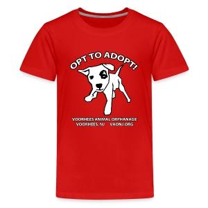 Opt to Adopt Tee - Kids' Premium T-Shirt
