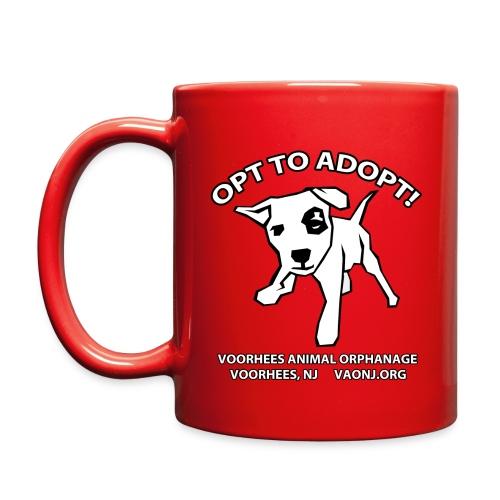 Opt to Adopt Mug - Full Color Mug