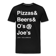 T-Shirts ~ Men's Premium T-Shirt ~ pizzas&beers&joe's men's
