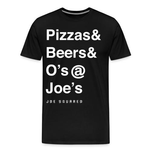 pizzas&beers&joe's men's - Men's Premium T-Shirt