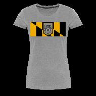 T-Shirts ~ Women's Premium T-Shirt ~ joe squared baltimore women's