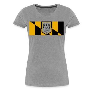 joe squared baltimore women's - Women's Premium T-Shirt