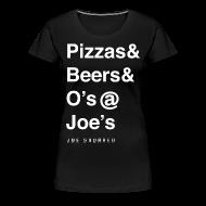 T-Shirts ~ Women's Premium T-Shirt ~ pizzas&beers&joe's women's