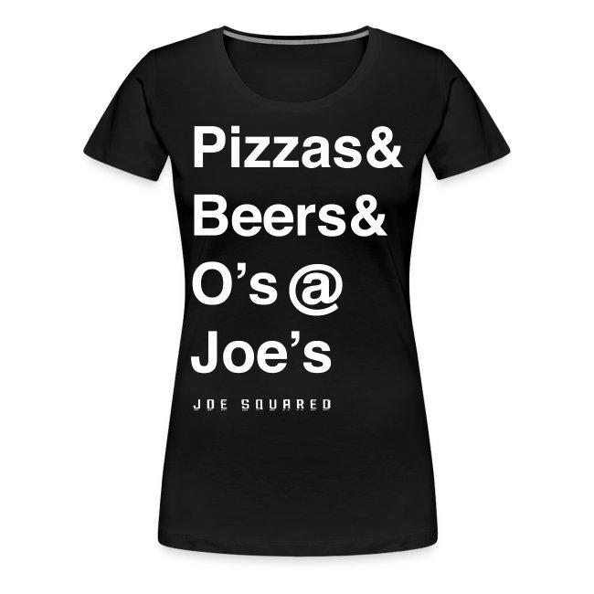 pizzas&beers&joe's women's
