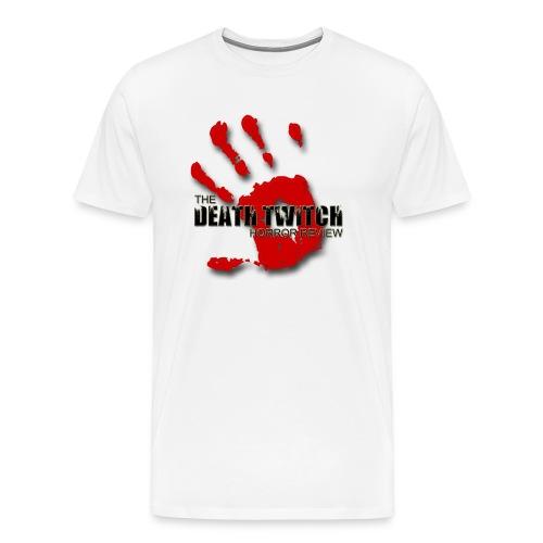 Men's large bloody hand logo front - Men's Premium T-Shirt