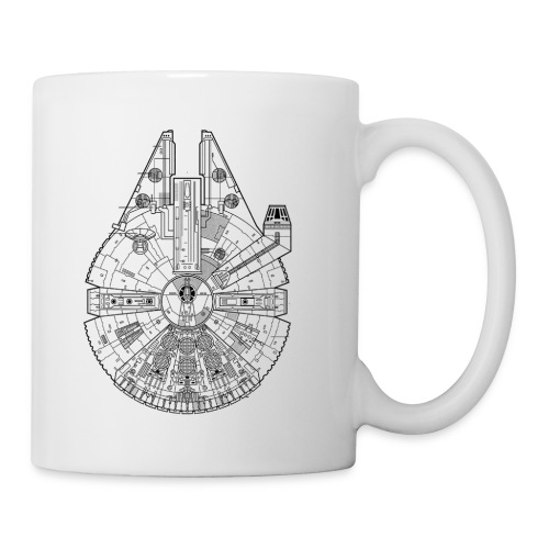 Millennium Falcon Mug - Coffee/Tea Mug
