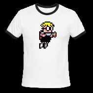 T-Shirts ~ Men's Ringer T-Shirt ~ Mutant Mudds Super Challenge