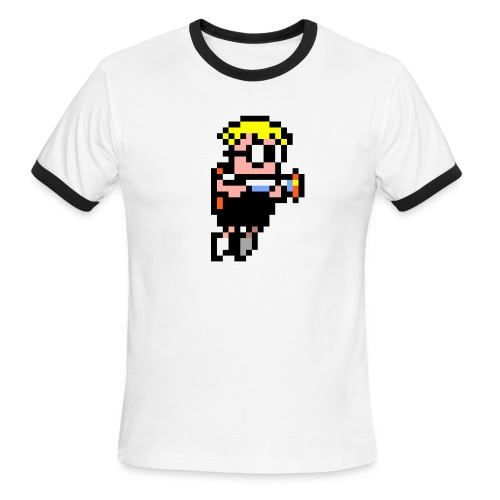 Mutant Mudds Super Challenge - Men's Ringer T-Shirt