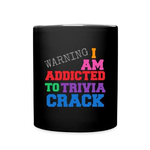 I Am Addicted To Trivia Crack Tee - Full Color Mug