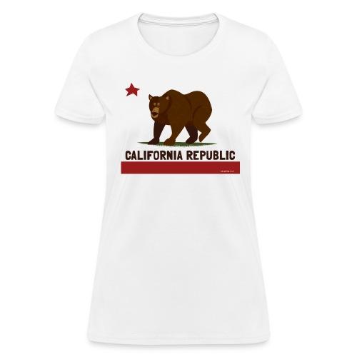 California Republic Bear - Women's T-Shirt
