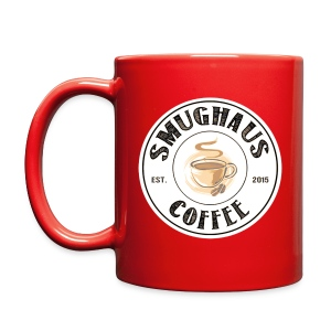 White Classic Haus Logo - Double Sided - Full Color Mug