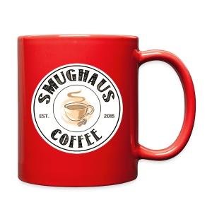 White Classic Haus Logo - Left-Handed - Full Color Mug