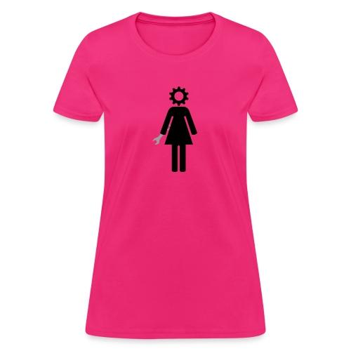 Female Gearhead - Women's T-Shirt