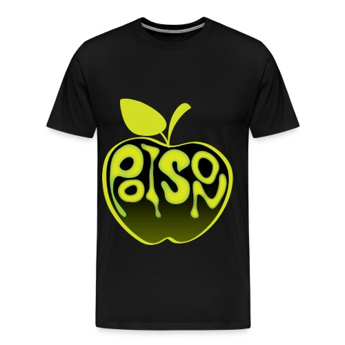 yellow apple poson - Men's Premium T-Shirt