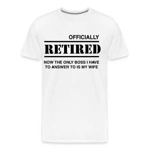 Retired - Men's Premium T-Shirt