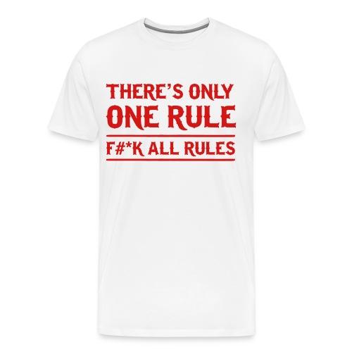 Rules - Men's Premium T-Shirt