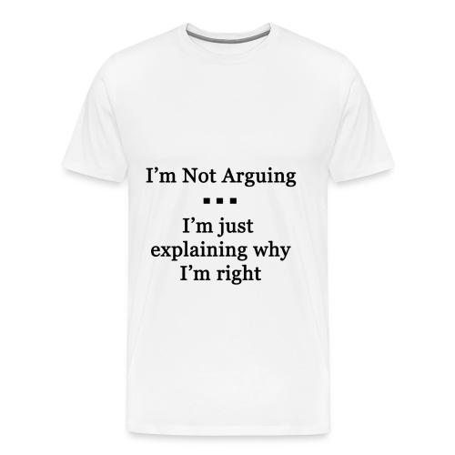 Arguing - Men's Premium T-Shirt