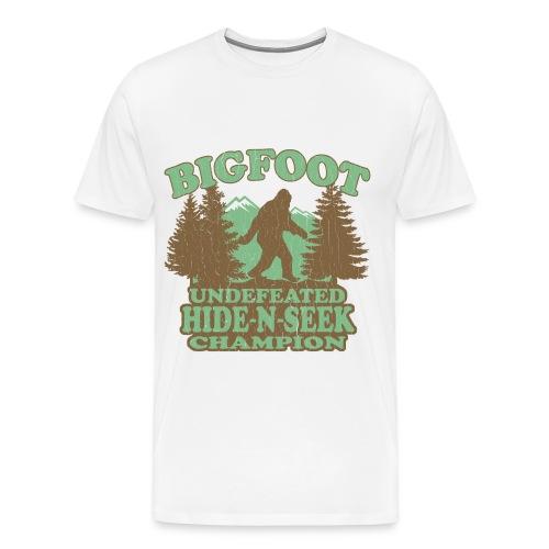 Bigfoot - Men's Premium T-Shirt