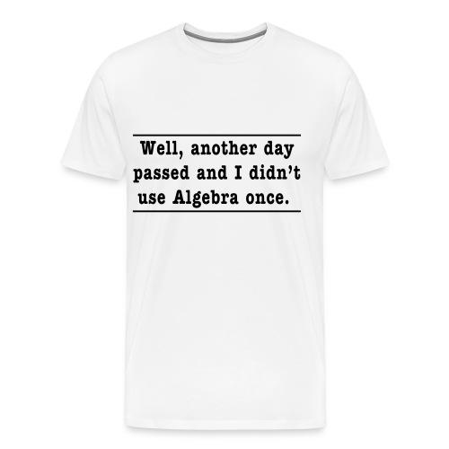 Algebra2 - Men's Premium T-Shirt