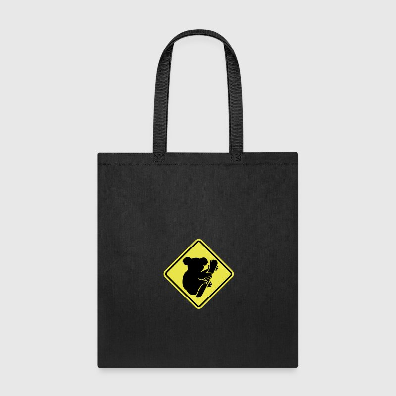 Koala road sign Bags & backpacks - Tote Bag