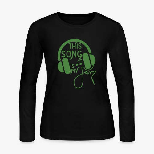 This Song - Women's Long Sleeve Jersey T-Shirt