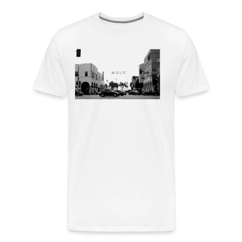 Molo T-Shirt (Venice Edition White) - Men's Premium T-Shirt
