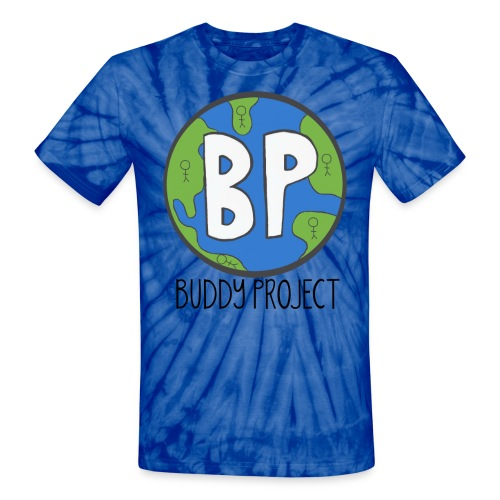 Buddy Project Tye Dye Unisex Shirt - Unisex Tie Dye T-Shirt
