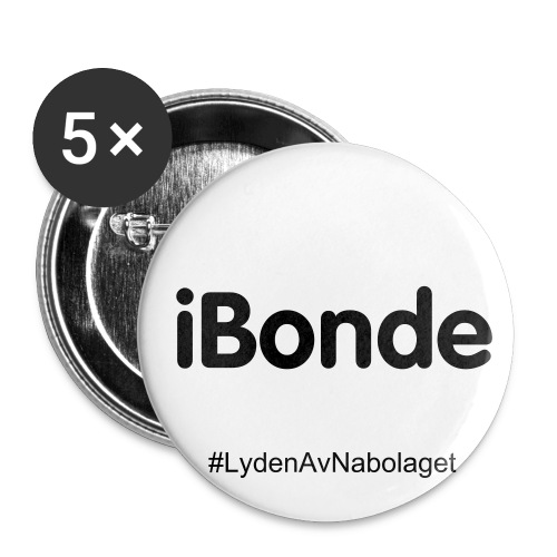iBonde button - Small Buttons