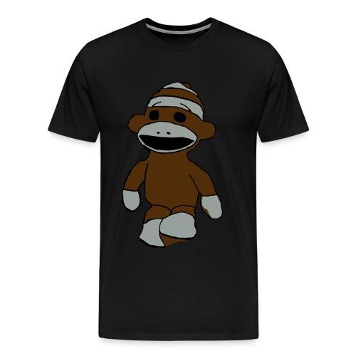 Big Sock Monkey Tee - Men's Premium T-Shirt