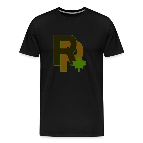 Outline Logo - Men's Premium T-Shirt