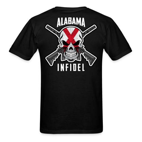 2015 Alabama Infidel  - Men's T-Shirt