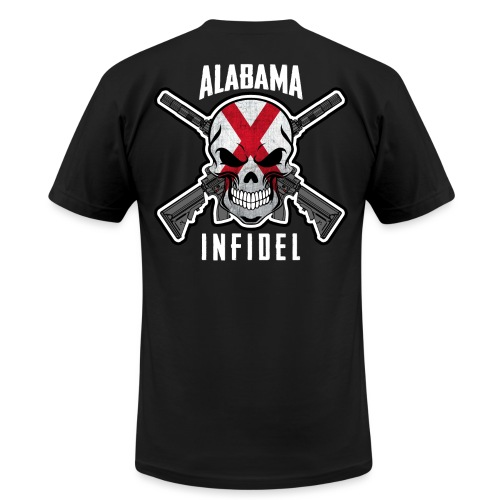 2015 Alabama Infidel  - Men's T-Shirt by American Apparel