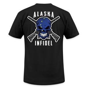 2015 Alaska Infidel - Men's T-Shirt by American Apparel