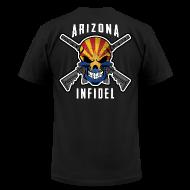 T-Shirts ~ Men's T-Shirt by American Apparel ~ 2015 Arizona Infidel