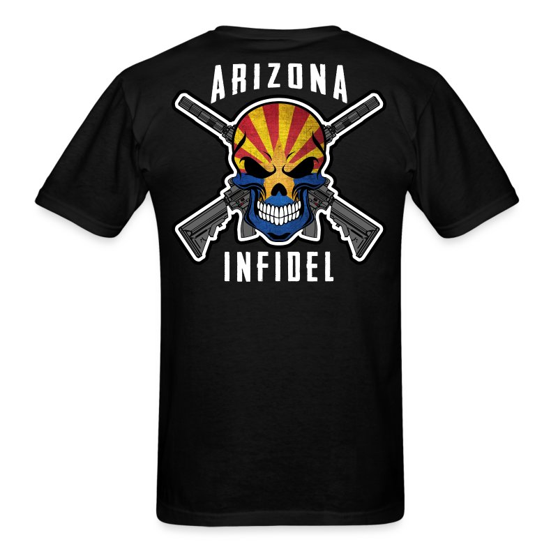 2015 Arizona Infidel - Men's T-Shirt