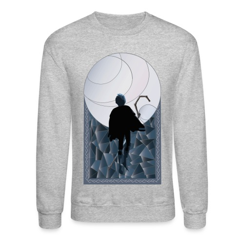 Jack Frost Stained Glass - Crewneck Sweatshirt