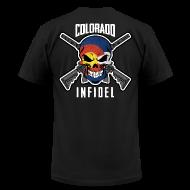 T-Shirts ~ Men's T-Shirt by American Apparel ~ 2015 Colorado Infidel