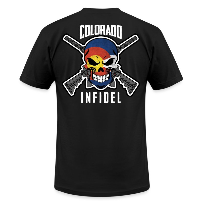 2015 Colorado Infidel - Men's T-Shirt by American Apparel
