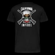 T-Shirts ~ Men's Premium T-Shirt ~ 2015 California Infidel