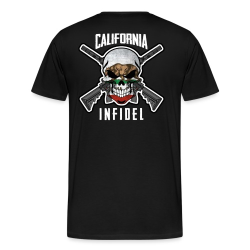 2015 California Infidel - Men's Premium T-Shirt