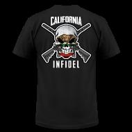 T-Shirts ~ Men's T-Shirt by American Apparel ~ 2015 California Infidel