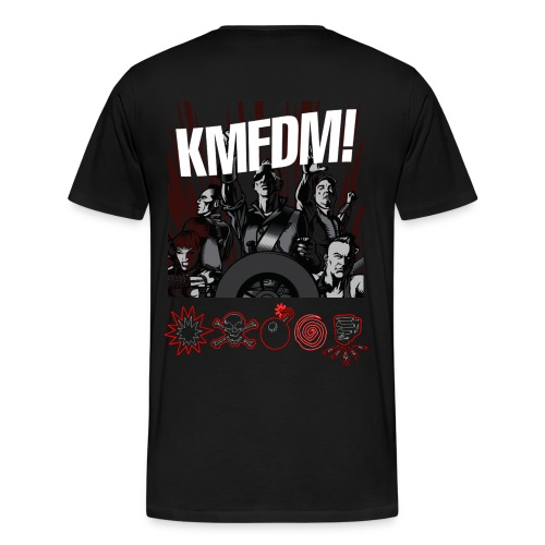 KMFDM BrimBorium - Men's Premium T-Shirt