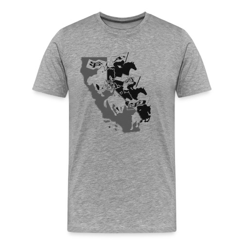 The Horsemen of CA - Men's Premium T-Shirt