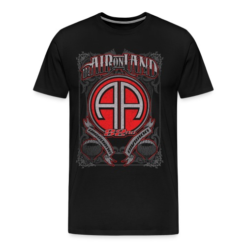 82nd Airborne  - Men's Premium T-Shirt